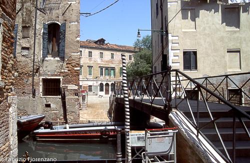 Veneice Jewish ghetto - - One of the bridges who link the gheto to the rest of the city- Uno dei ponti che collegano il ghetto con il resto della cittàFoto Fabrizio Fiorenzano/Infophoto