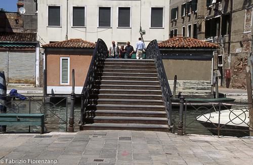 Veneice Jewish ghetto - - Uno degli ingressi nel ghetto - One of the entrances to the gheto Foto Fabrizio Fiorenzano/Infophoto
