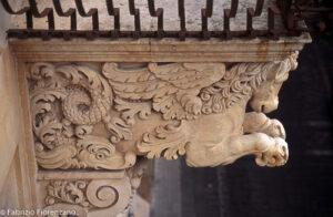 Detail Palazzo Nicolaci Noto