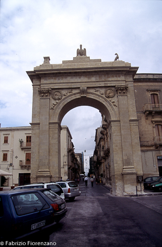 Porta Reale - Gate of Noto